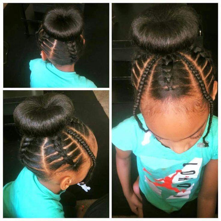 Astonishing 1000 Ideas About Kid Braids On Pinterest Braids Braids And Short Hairstyles For Black Women Fulllsitofus