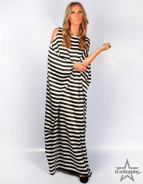 Original striped dresses (patterns)