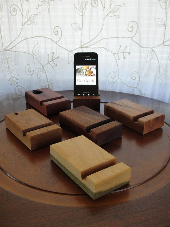 Hey, I found this really awesome Etsy listing at https://www.etsy.com/listing/182196278/iphone-stand-single-groove