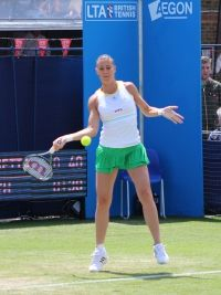 Flavia Pennetta's GS Performance Timeline & Stats