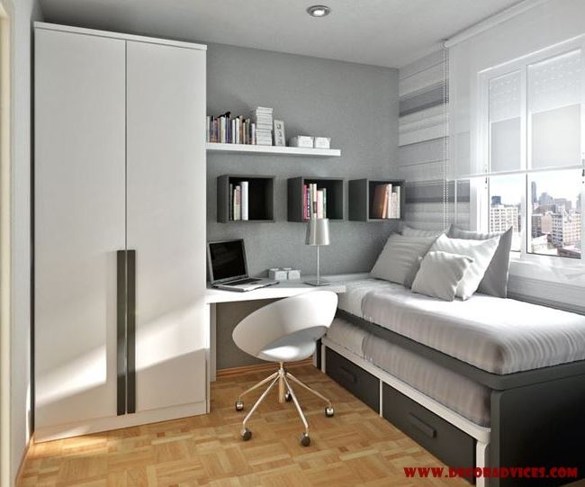 small teen room design for boys  Beautify Your Young Son's or Daughter's Bedroom According To Their Interest