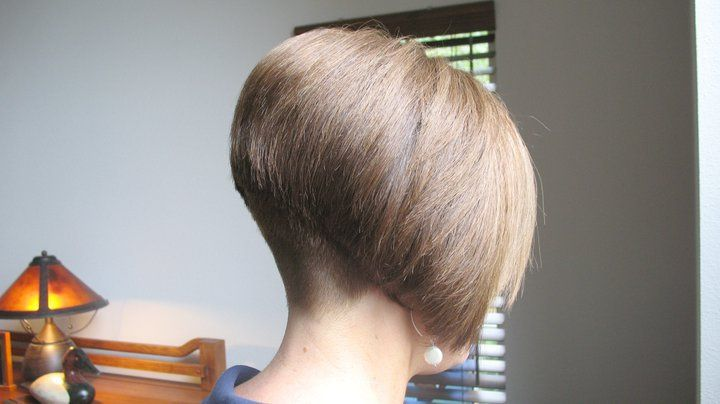 buzzed nape | Inverted Bob's | Pinterest | Angles, Bobs and Awesome