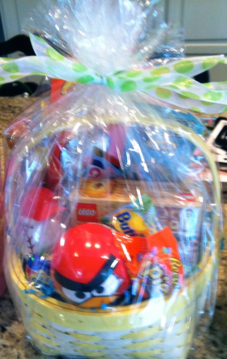 24 best easter thoughts images on pinterest easter baskets easter basket 6 10 yr old boy negle Image collections