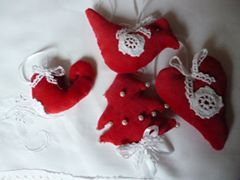 piros karácsony