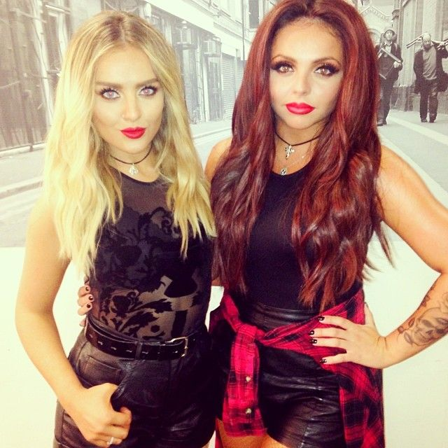 Perrie Edwards and Jes...