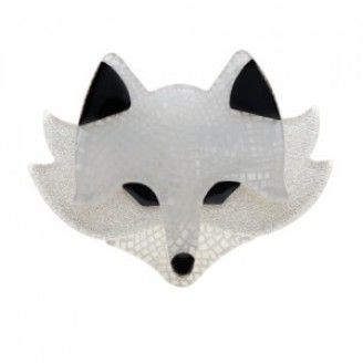 Erstwilder Winona the Winter Fox Brooch
