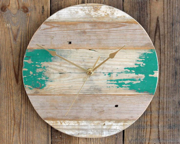 17 Best Images About Wall Clocks By Reclaimed Time On