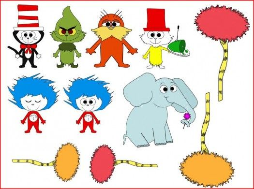 Free Barrier Game Dr. Seuss Pictures