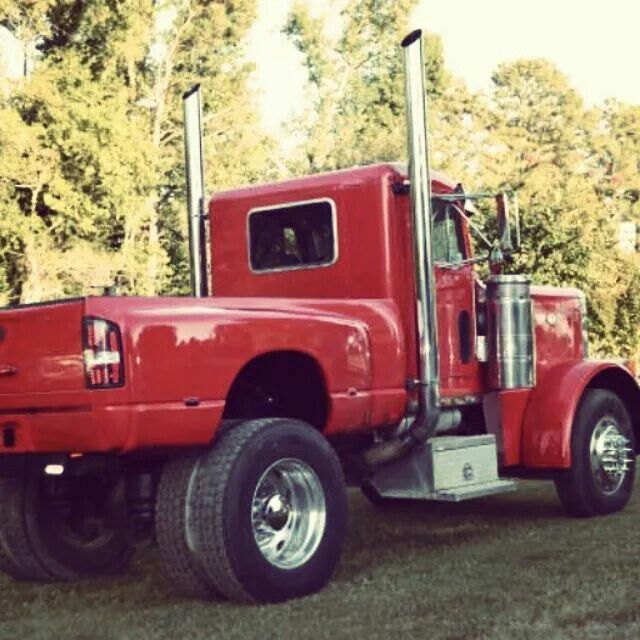 Peterdodge 2 Old World Units Come Together For A Bad Street Rod Pickup Truck Getting To The Dock Trucks Peterbilt