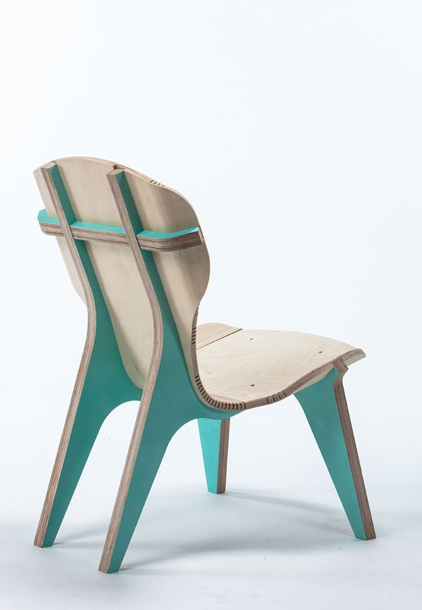 The KerFchair?is A Flat Pack Furniture Designed By Boris Goldberg Made From  CNC Machined Birch Wood. Instead Of Bending Laminated Wood, ...