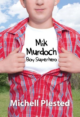 Mik Murdoch: Boy Superhero, by Michell Plested. Alternately funny and touching adventures of 9 year-old determined to become a superhero and the protector of his small prairie town, Cranberry Flats. Shortlisted for 2013 Prix Aurora Awards, Young Adult Novel