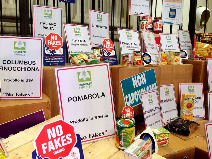 Food, Counterfeit Made in Tuscany in the Dock