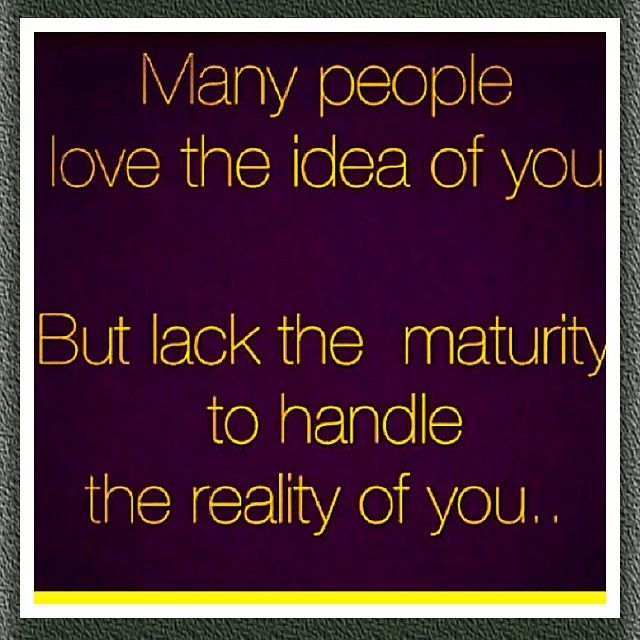 the reality of you