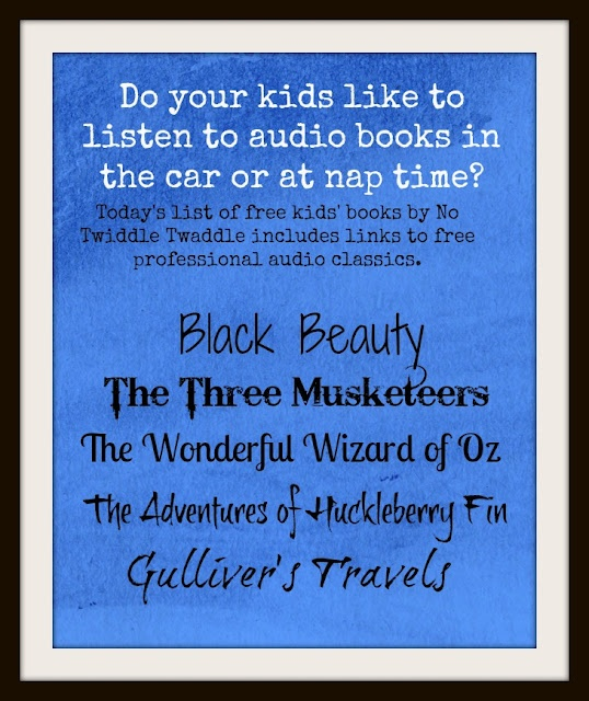 Today's list not only has some great free eBooks, but also some free professional narrations to go with some classics. We have already started listening to The Wonderful Wizard of Oz read by Ann Hathaway.