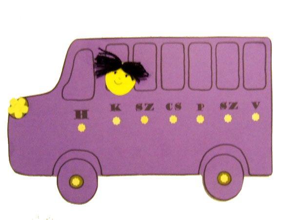 a hét napjai - busz
