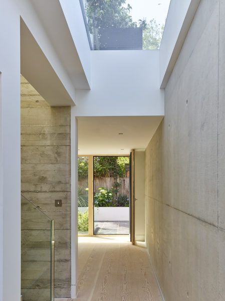 Triple glazed #skylight for Passive House project. Architects: Richard Dudzicki Associates Ltd | Timothy Soar photographer