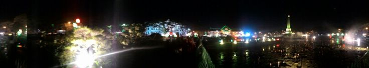 Panorama Taman Tugu Malam Hari