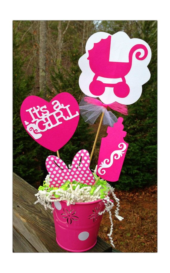 best baby shower centerpieces images on   baby, Baby shower invitation