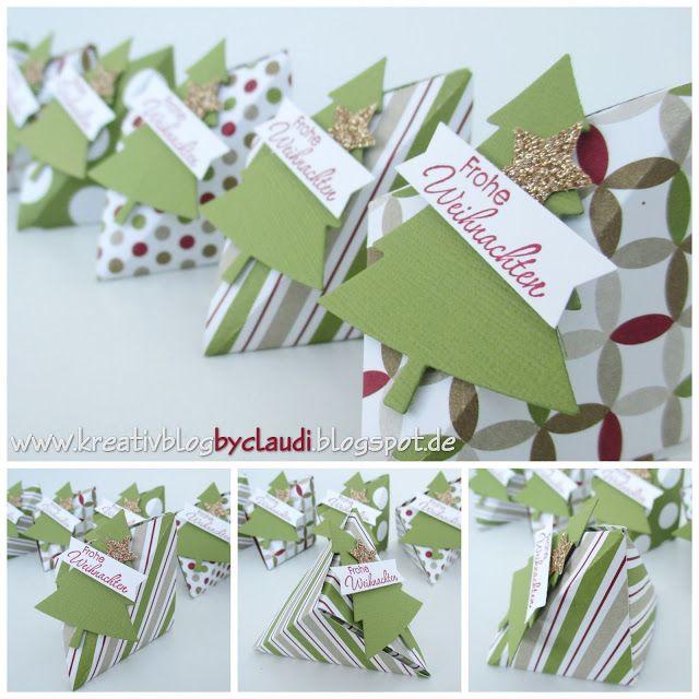 www.kreativblogbyclaudi.blogspot.de: Origami für Anfänger oder Resteverwertung leicht gemacht