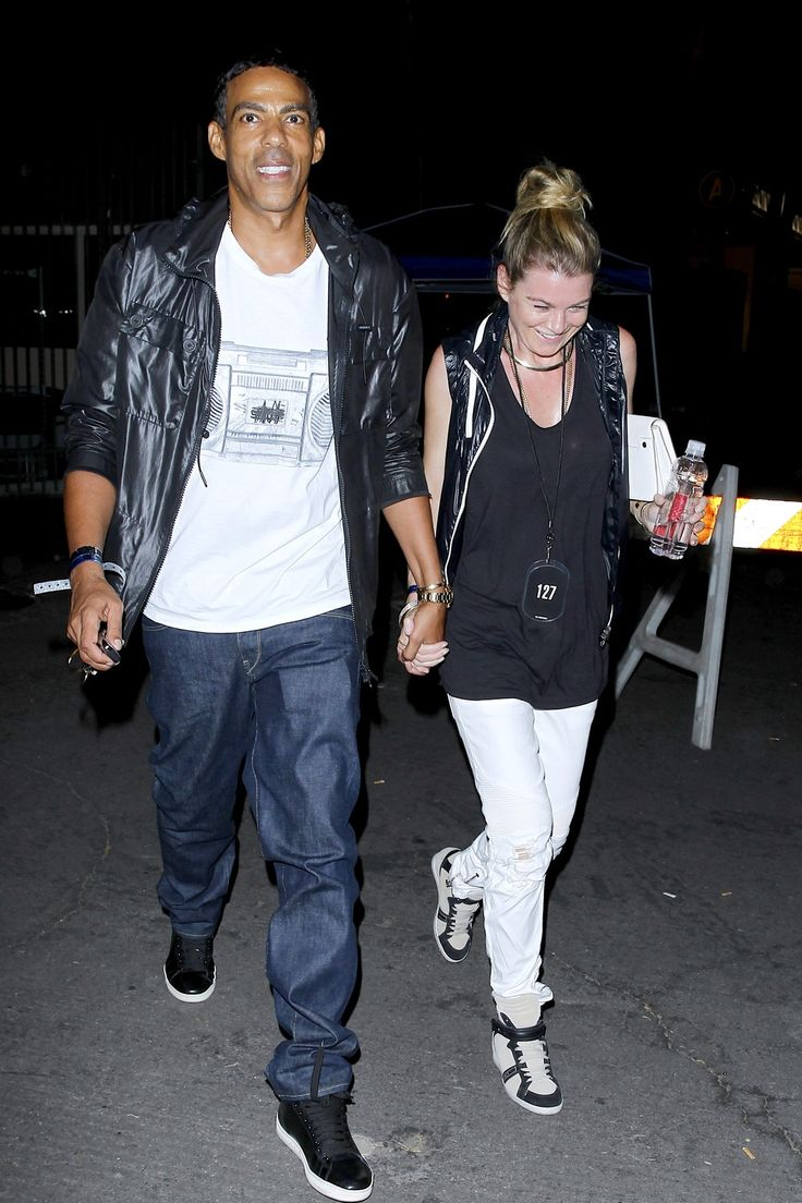 "Ellen Pompeo and Chris Ivery Go ""On the Run"" at Beyonce/Jay Z Concert (PHOTOS)"