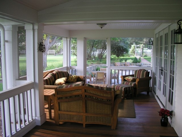 Wouldn't this be a nice porch to escape to,
