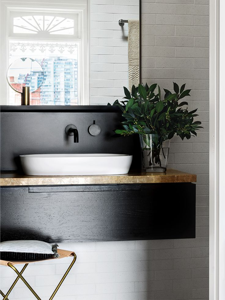 fuckyeahinteriordesigns:  (via Bathroom Covet | The Raw Materials Issue | Est Magazine)