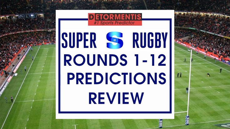 Super Rugby 2017 predictions review : Rounds 1 - 12