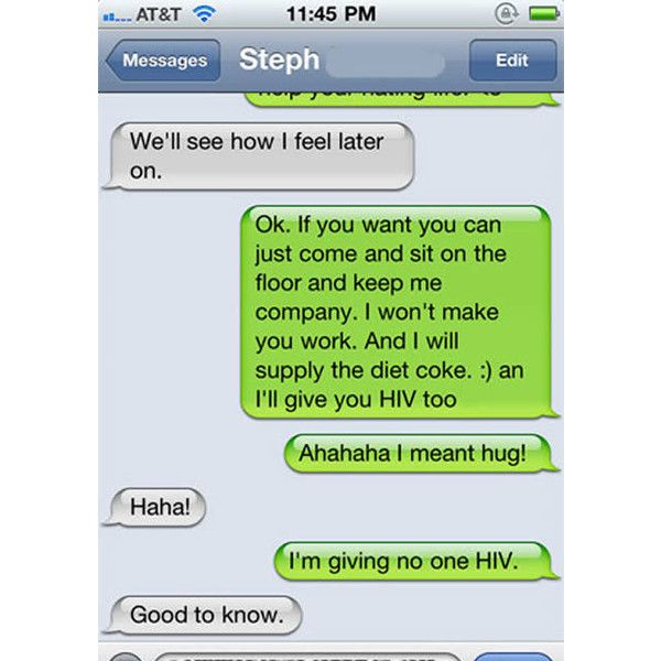 What are some funny cell phone greetings?
