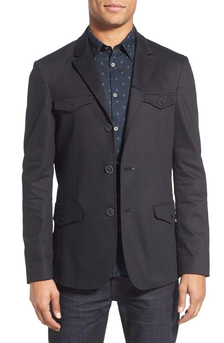 John Varvatos Collection Flap Pocket Sport Coat | Menswear ...