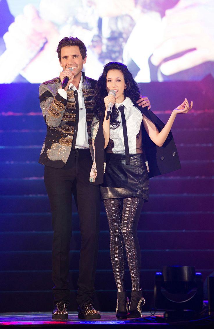 Mika and Karen Mok live in Milan