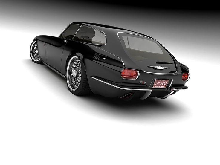 (via Volvo P1800 ZES Study is a Retrolicious Sports Estate - Carscoops)
