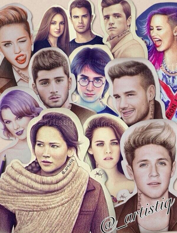 Just love her drawings @_artistiq follow her in twitter