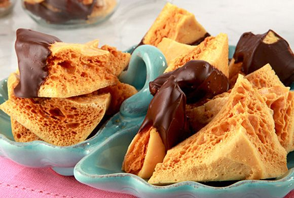 Sponge Toffee recipe - Canadian Living    This will be next year's holiday treat that I will attempt, if I remember.