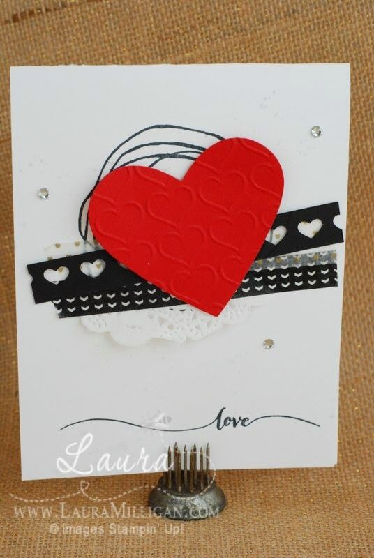 "Laura Milligan, Stampin' Up! Demonstrator - I'd Rather ""Bee"" Stampin!: Love"