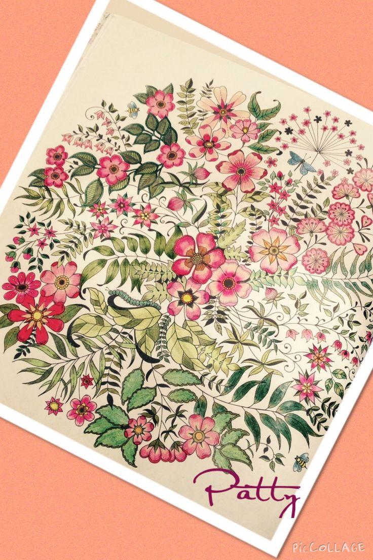 The secret garden coloring book target -  Jardimsecreto Secretgarden