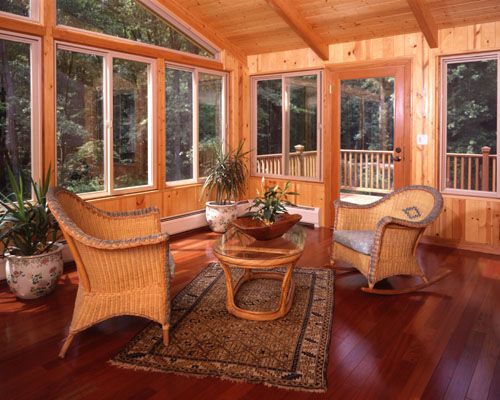 17 best images about sunrooms on pinterest patio cedar for Cedar sunroom