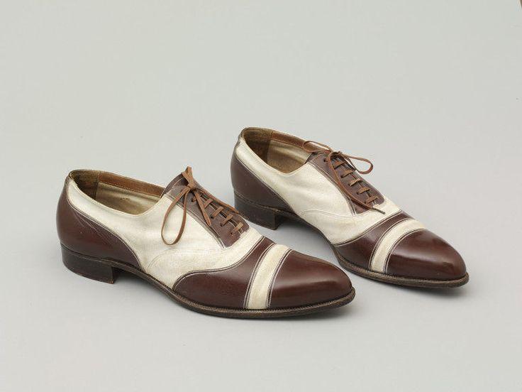 saxone shoe co. men's leather shoes | circa 1935 | #vintage #1930s #fashion #menswear
