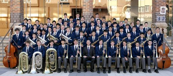 Knox grammar school band, but only one of the bands