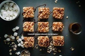 Coconut Almond Rice Krispies