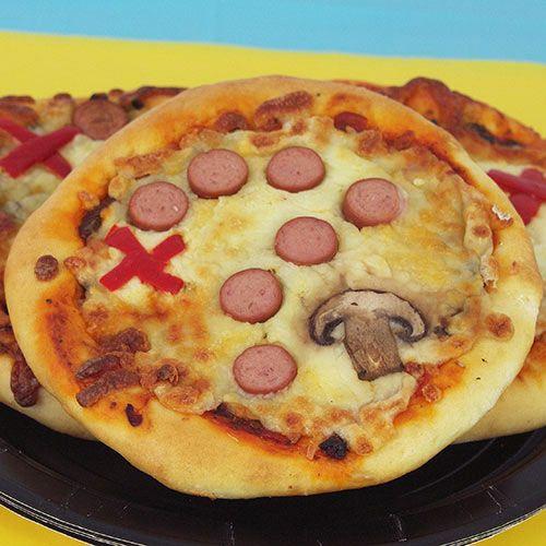Treasure Map Pizza