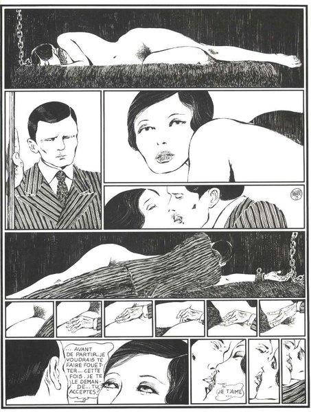 'Histoir d'O', Guido Crepax