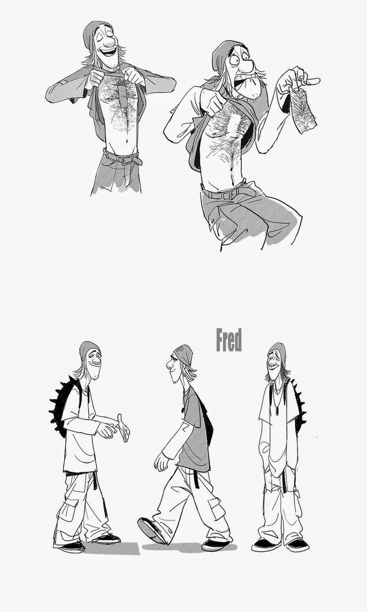 Cartoon Concept Design: Disney-BIG HERO 6 concept art and Model sheets
