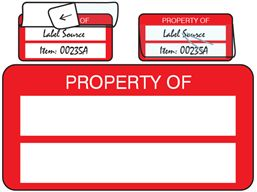 Property asset label, not numbered, self laminating. Available here: http://www.labelsource.co.uk/labels/property-asset-label--not-numbered--self-laminating/ssll00