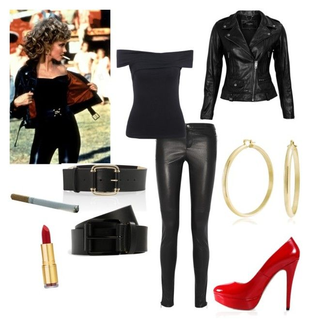 Grease inspired outfit! | Grease outfits, Hollywood theme ...