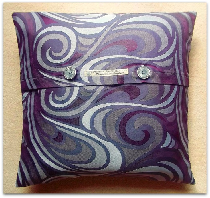 Retro Paisley Design Cushion Cover | wowthankyou.co.uk