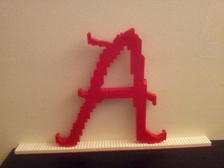 "Lego Alabama ""A""Rammer Jammer, Lego Alabama"