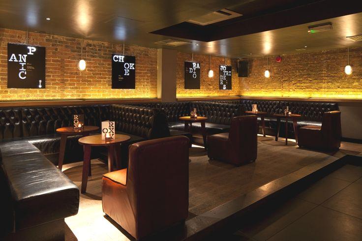 Дизайн бара THE ROXY в Лондоне