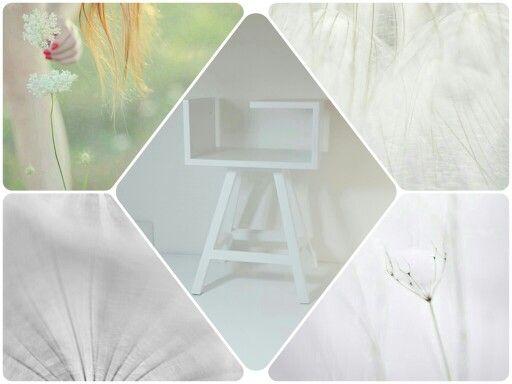 Biały  stolik AA od Acoco  #acoco #acocodesign #wood #drewno #modern #design #nowoczesna #garderoba #salon #sypialnia #meble #stolikAA #cafe #pień #withe #dawanda_pl #stolikAA #biały