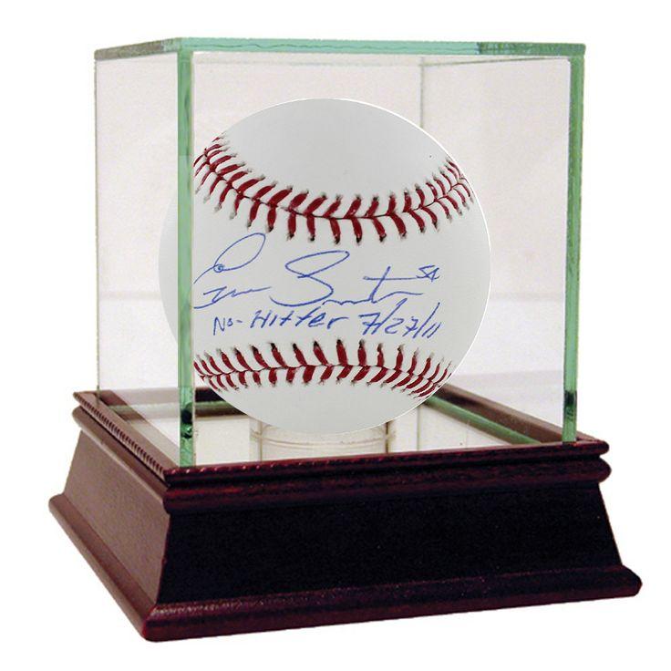 Ervin Santana MLB Baseball w/' No Hitter, 7/27/11' Insc (MLB Auth)