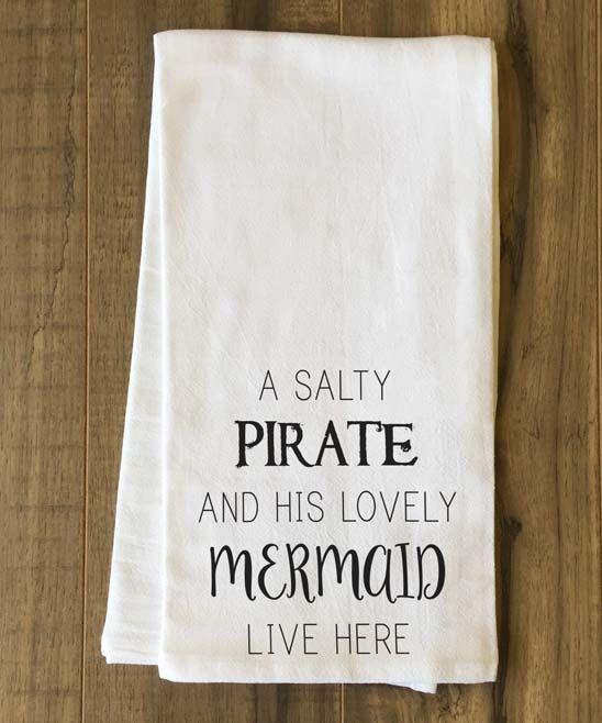 Mermaid Tea Towel $14.99 www.mermaidhomedecor.com - Mermaid NEW (2)